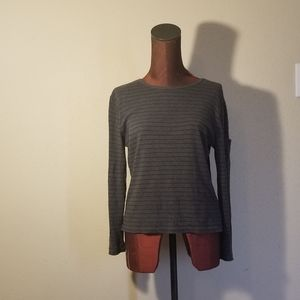 3for$20 - Lauren gray striped sweater